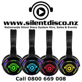 Silent Disco System Hire