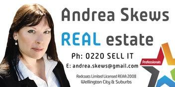 WELLINGTON REAL ESTATE - ANDREA SKEWS