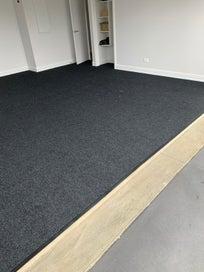 Superior quality Garage carpet and Carpet laying