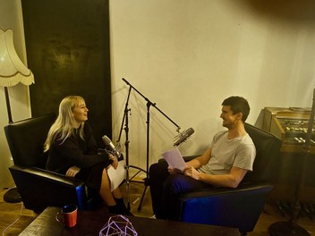 Podcast room for hire