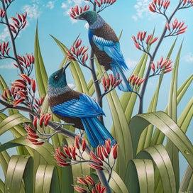 Artist - Acrylic Seascape Paintings