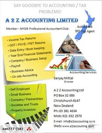 SAY GOODBYE TO ACCOUNTING/TAX PROBLEMS