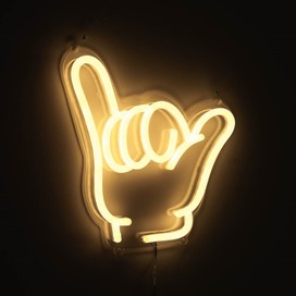 Custom Neon LED signs and Neon LED Sign Hire