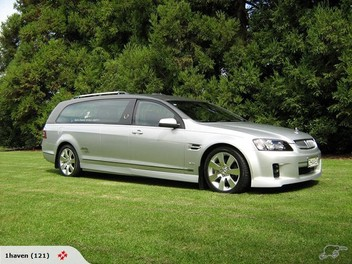 VE SS V8 HOLDEN HEARSE FOR HIRE