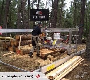 Portable Sawmilling Contractor, Felling, Slabbing