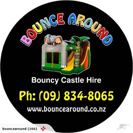 BOUNCE AROUND BOUNCY CASTLE HIRE AUCKLAND WIDE