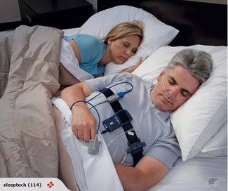 Sleep testing for snoring and sleep apnoea