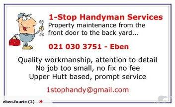 1-Stop Handyman Services | Trade Me