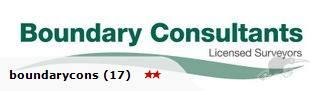 Surveyor - Boundary Consultants Ltd