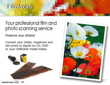 Professional film scanning and photo scanning