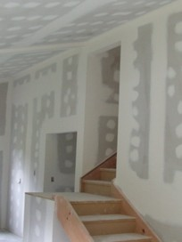 Rainton Plastering & Skim-Coating of old walls.