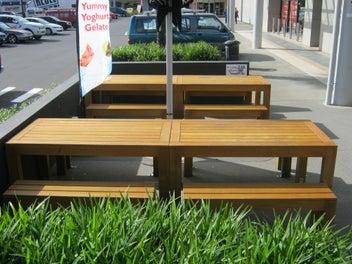 Kiwi Tables outdoor & indoor furniture.