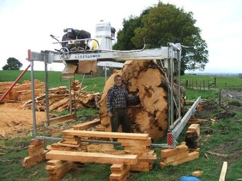 portable sawmilling / timber sales | Trade Me