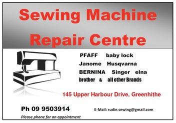 Sewing Machine Sales & Repairs