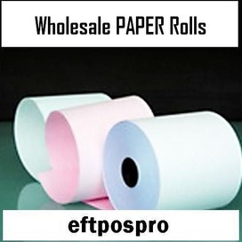 WHOLESALE NZ MADE Thermal Eftpos Till Paper Rolls