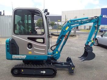 Digger/Excavator 1.8 tonne and 3.5 tonne