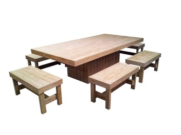 BBQ Tables / Picnic Tables, Herb / Planter Boxes