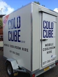 Chiller Trailer & Freezer Trailer Hire