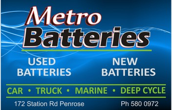 New and Used Batteries