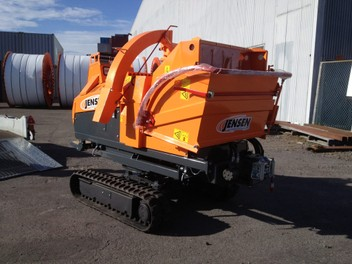 New and used Jensen Wood Chippers for sale/hire