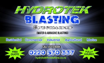 Water Blasting, House Wash, Boat, Pool, Softwash