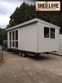 SLEEPOUTS / SHEDS / CABINS / CUSTOM BUILDS