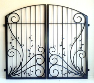 Wrought Iron Gates , Balustrades , Furniture & Art