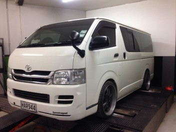 Toyota Hiace Diesel Particulate Filter Removal