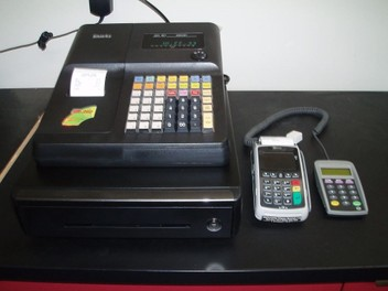 EFTPOS & FREE Sam 4s ER260 cash register