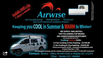 Airwise Auckland Air Conditioning Ltd