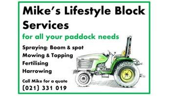 Lifestyle Block Services