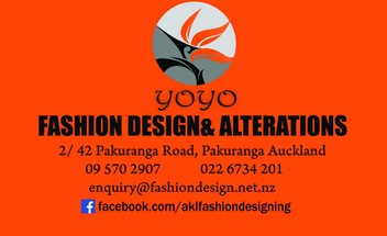 Clothing Alterations and Repairs, Fashion Design