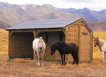 Horse Shelters and Stables