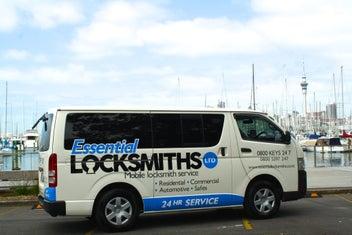 Essential Locksmiths 24hrs Ph: 0800 539 7247
