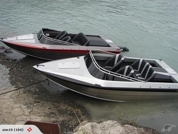Jet Boat Rapid Runner Alloy Hull | Trade Me