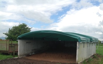 Effective Retractable PKE or Fert Bunker Cover