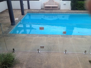 Glass Pool fencings/Balustrades