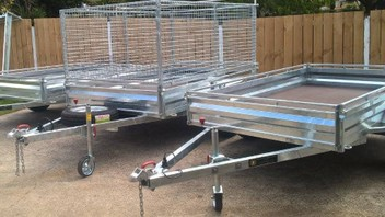 Heaven trailers service and manufacturing trailers