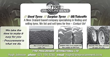 Tyres - Used & New - Earthmover, OTR, Tractor