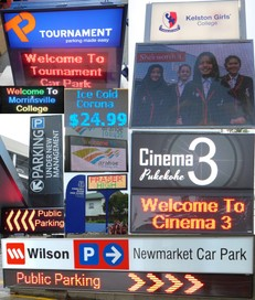 Indoor and Outdoor LED Signs & Electronic Displays