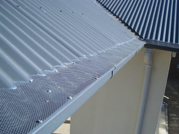 Gutter spouting protection