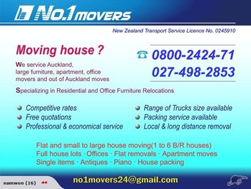 Best Furniture removers! No.1 movers