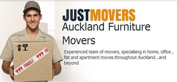JUST MOVERS AUCKLAND FURNITURE MOVERS $89.00