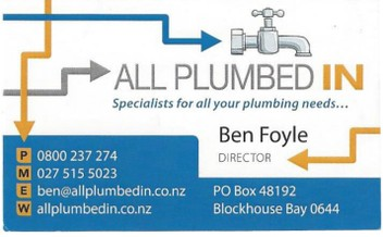 West Auckland Plumbing, Gas & Leak Detection