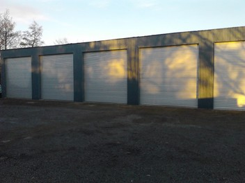 Large Storage Sheds Available for Rent