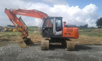 digger tip truck tralier hire