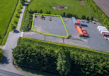 Yard for Lease off QE2 Drive *You Choose the Size*