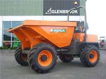 AUSA D600 6 Tonne Site Dumper 2014