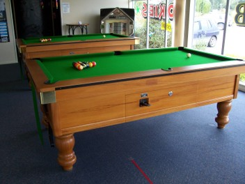 Pool Table Coin Operated Lease Hire Percentage