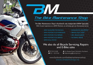 BMW MOTORCYCLE SPECIALIST-servicing & repairs